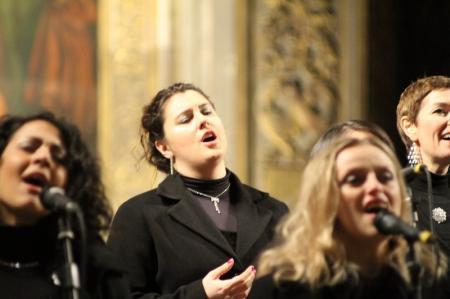 Joy singers ai frari per progetto dogon venezia 18 dic 09